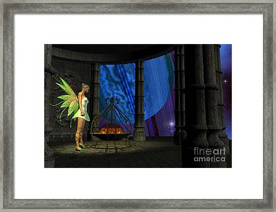 Fairy Haven Framed Print by Corey Ford