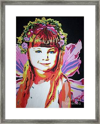 Fairy Lexi Framed Print by Jennifer Heath Henry