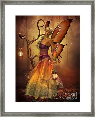Fairy Lilith Framed Print by Corey Ford