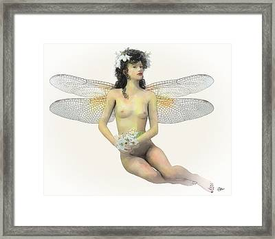 Fairy Luck Framed Print by Quim Abella