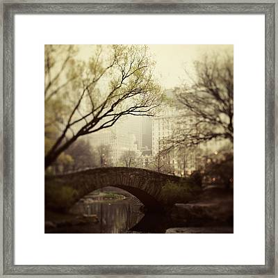 Fairy Of New York Framed Print by Irene Suchocki