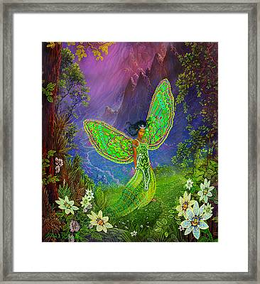 Fairy Princess Framed Print by Steve Roberts