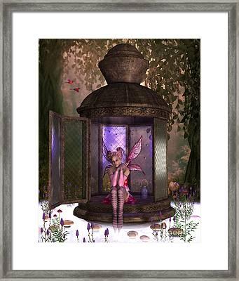 Fairy Rhea Framed Print by Corey Ford