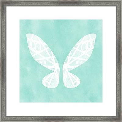 Fairy Wings- Art By Linda Woods Framed Print by Linda Woods