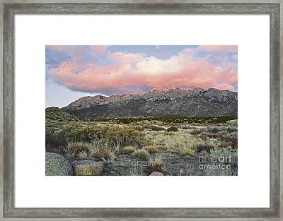 Fairytale Clouds Framed Print by Andrea Hazel Ihlefeld