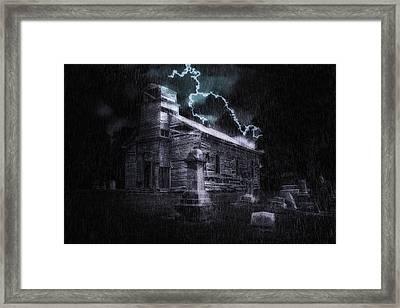 Faith And Fury Framed Print by Tom Mc Nemar