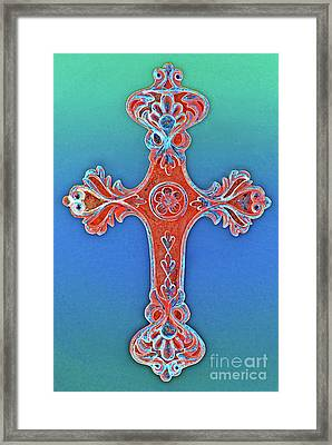 Faith Framed Print by Gwyn Newcombe