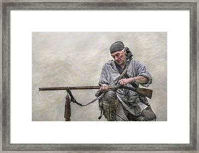 Faithful Friend Framed Print by Randy Steele