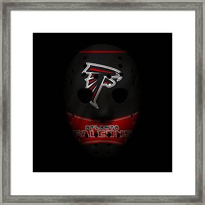 Falcons War Mask 3 Framed Print by Joe Hamilton