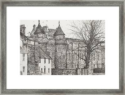 Falkland Palace Framed Print by Vincent Alexander Booth