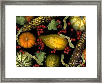 Fall Harvest Framed Print by Christian Slanec