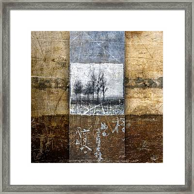 Fall Into Winter Framed Print by Carol Leigh