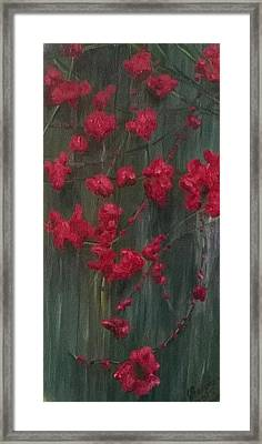 Fall Ivy Framed Print by Joann Renner