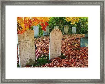 Fall Memories Framed Print by Lois Lepisto