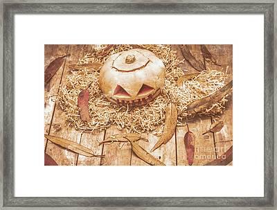 Fall Of Halloween Framed Print by Jorgo Photography - Wall Art Gallery