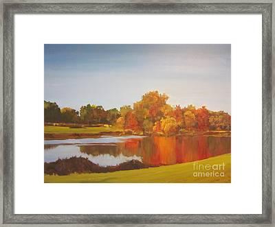 Fall Perfection Framed Print by Elizabeth Carr