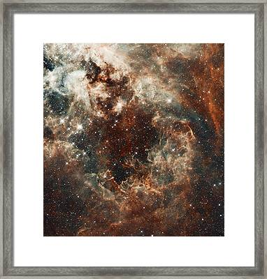 Fall Storm Framed Print by The  Vault - Jennifer Rondinelli Reilly