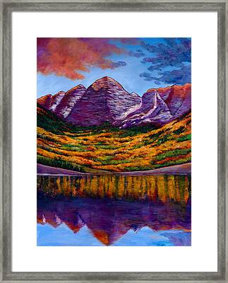 Fall Symphony Framed Print by Johnathan Harris