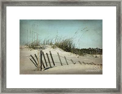 Fallen Framed Print by Joan McCool