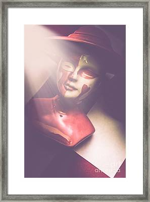 Fallen Queen Of Hearts Chess Piece Framed Print by Jorgo Photography - Wall Art Gallery