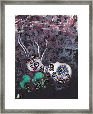 Falling From Grace Framed Print by  Abril Andrade Griffith