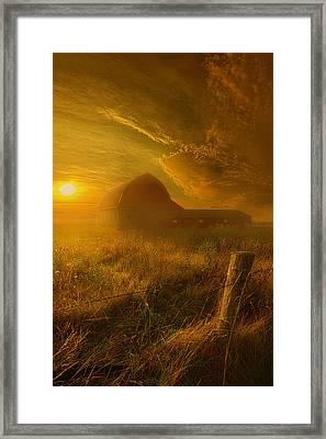 Falling Through Time Framed Print by Phil Koch