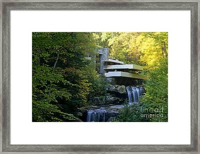 Fallingwater Framed Print by Bill Bachmann