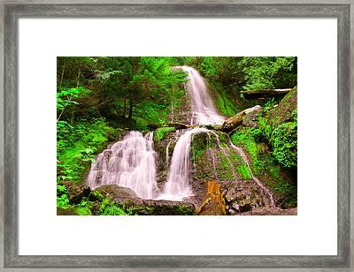 Falls Creek  Framed Print by Jeff Swan