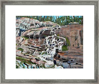 Falls View Resort  Framed Print by Phil Chadwick