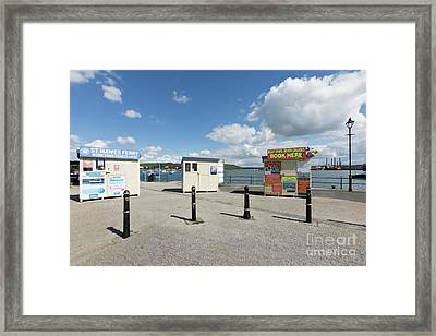 Falmouth Boat Trips Framed Print by Terri Waters