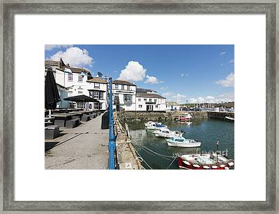 Falmouth Inns Framed Print by Terri Waters