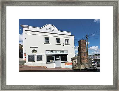 Falmouth King's Pipe Pasties Framed Print by Terri Waters