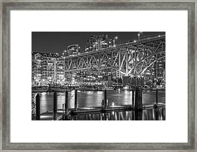 False Creek Bw Framed Print by Naman Imagery