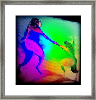 If You Are Having A Colorful Family Business For Good And For Bad  Framed Print by Hilde Widerberg