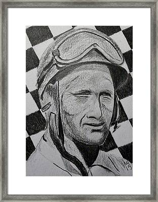 Fangio Framed Print by Nick Young
