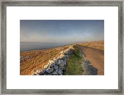 Fanore Road Framed Print by John Quinn