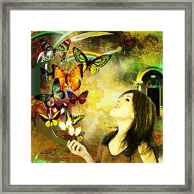 Fantasia Framed Print by Van Renselar
