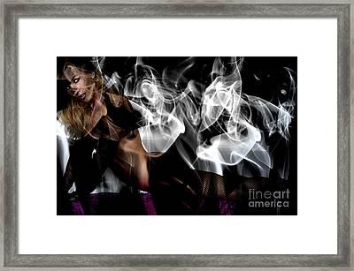 Fantasies In Smoke I Framed Print by Clayton Bruster