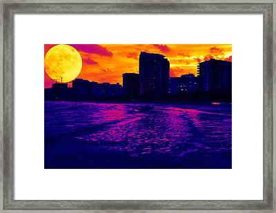 Fantastic Colors Framed Print by Jose Mena