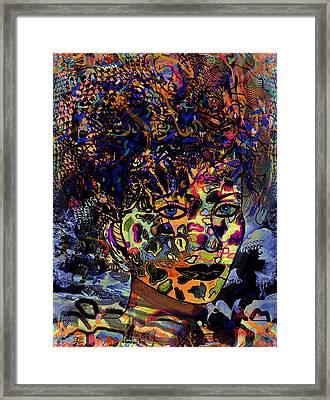 Fantasy Beauty Framed Print by Natalie Holland