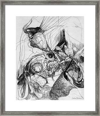 Fantasy Drawing 1 Framed Print by Svetlana Novikova
