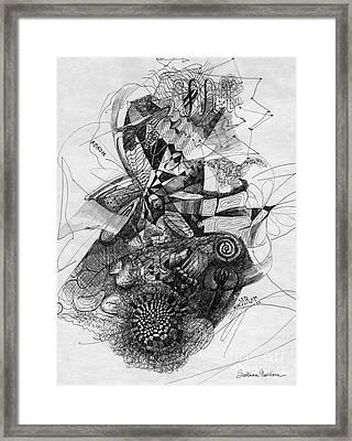 Fantasy Drawing 2 Framed Print by Svetlana Novikova