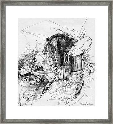 Fantasy Drawing 3 Framed Print by Svetlana Novikova