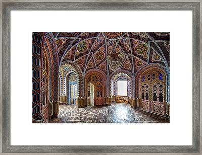 Fantasy Fairytale Palace - Abandoned Building Framed Print by Dirk Ercken