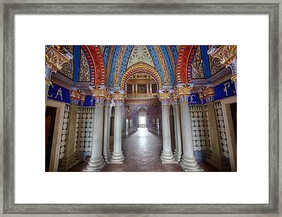 Fantasy Fairytale Palace - Urban Decay Framed Print by Dirk Ercken