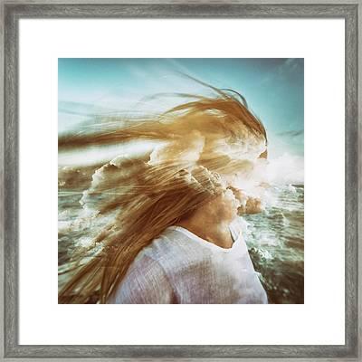 Fantasy Framed Print by Stelios Kleanthous