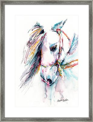 Fantasy Framed Print by Stephie Butler