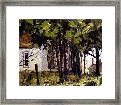 Far And Between Daylights Framed Print by Charlie Spear
