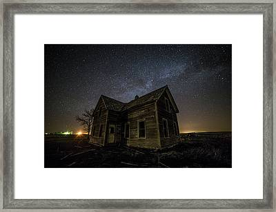 Far Away Framed Print by Aaron J Groen