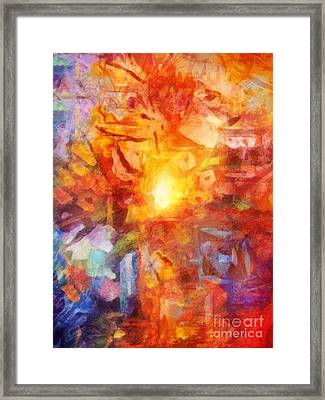 Farbenlicht Framed Print by Lutz Baar